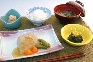 ソフト食(鯖の生姜煮)